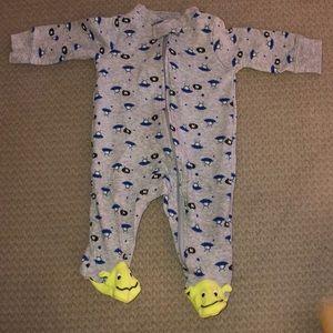 Carters 3 mos footie pajama